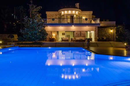 Panoramic View of Villa Mare